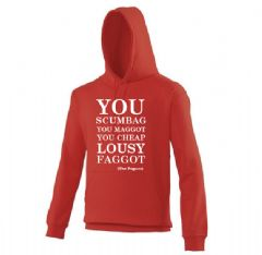 CHRISTMAS HOODIE  Fairytale of New York - You Scumbag!